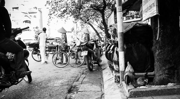 Hanoi woman portrait