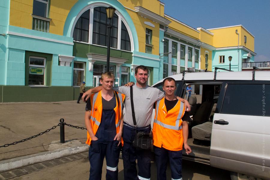 UlanUde, Siberia, Russia, people