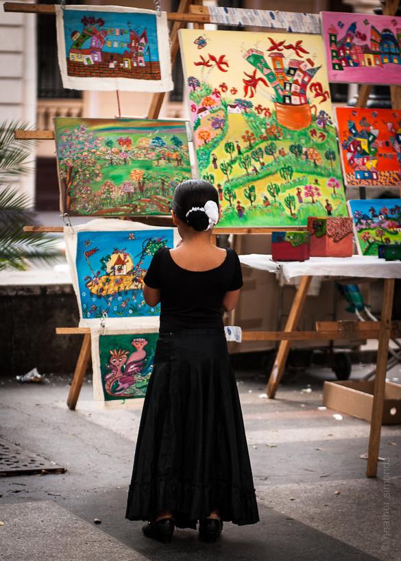 cuba, colour, art