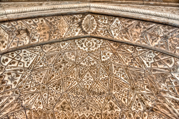 India, Red Fort, Ivory