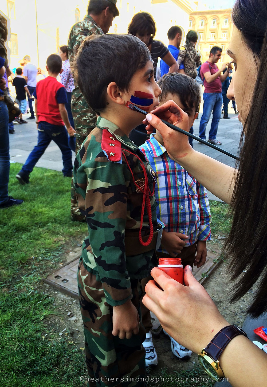 Yerevan, parade, Armenia, festival
