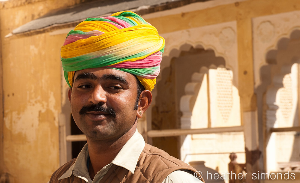 turban, Rajasthani, India