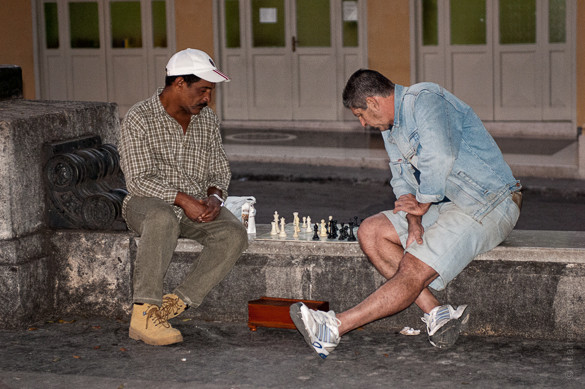 Havana, Cuba, games, chess