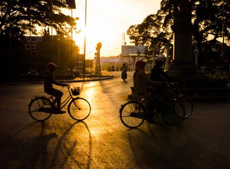 Siem Reap Early Morning Street Hustle