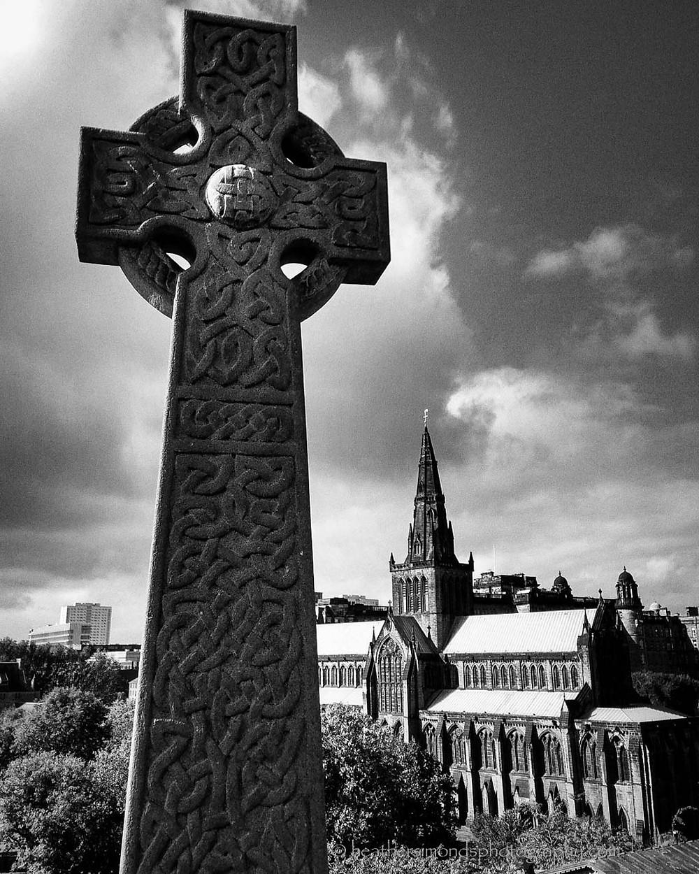 Celtic, Crosses, Scotland, Glasgow