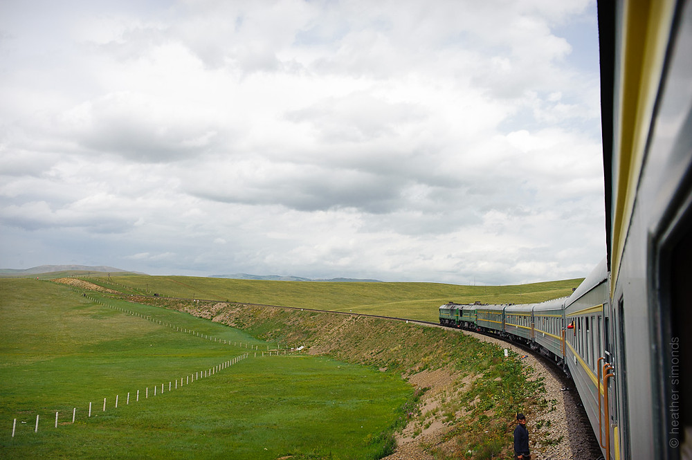 Mongolia, train, Trans Siberian
