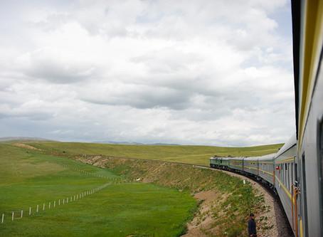 On To Mongolia,                            Trans Mongolian Train Travel