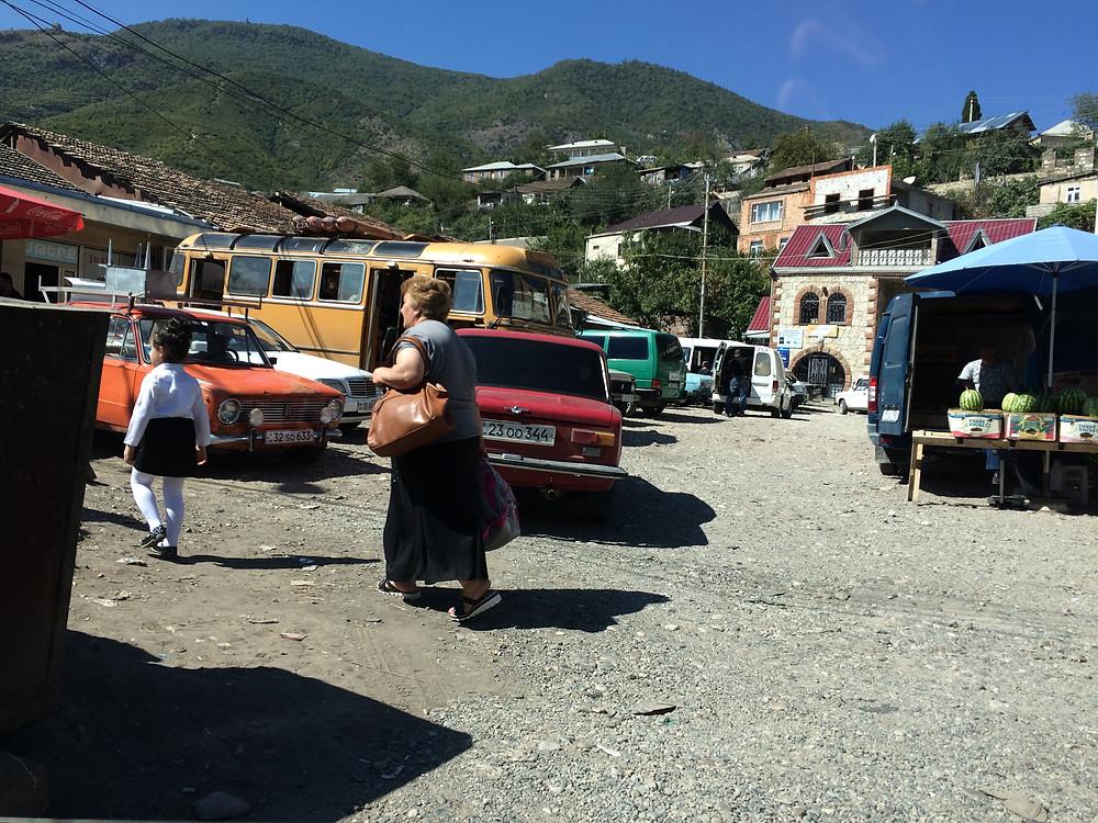 Armenian market, Armenia
