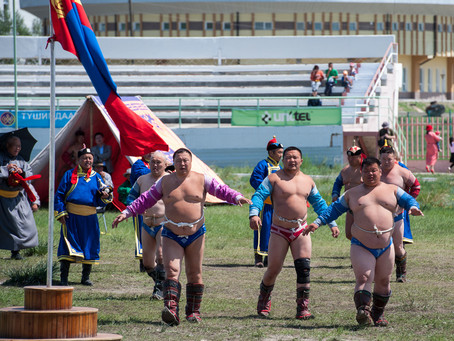 Mongolia Wrestling - Nadaam Games