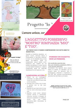 """Progetto """"io Valgo"""" la prima rivista nazionale di educazione della prevenzione della violenza di gen"""