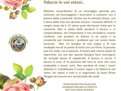 """1 Maggio Progetto """"Io Valgo"""""""