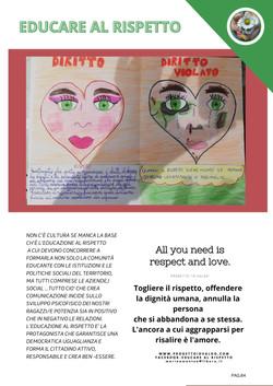 """Progetto """"Io Valgo""""-Prima rivista digitale di educazione alla prevenzione della violenza di genere"""
