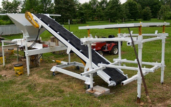 The Conveyor Unveiled and On-site