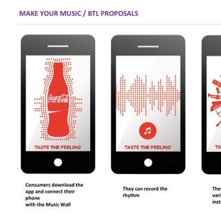 Mobile App for COCA COLA