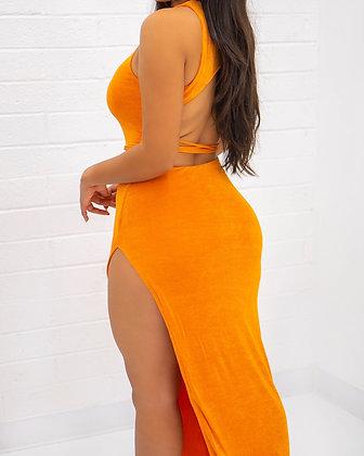 Summer Lovin' Dress - Orange