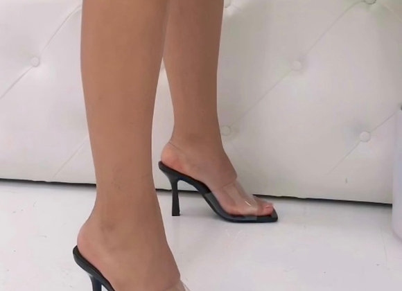 Staple Heel - Black