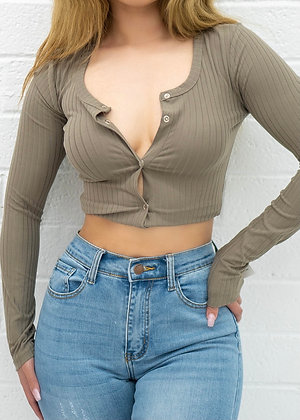 Jay Top - Taupe