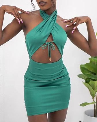 Hollywood Dress - Green