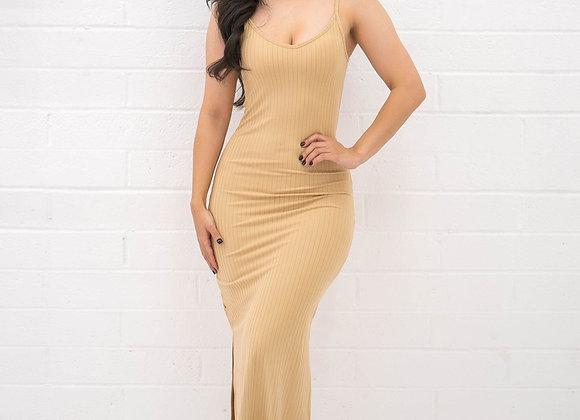 Jocelyn Dress - Nude