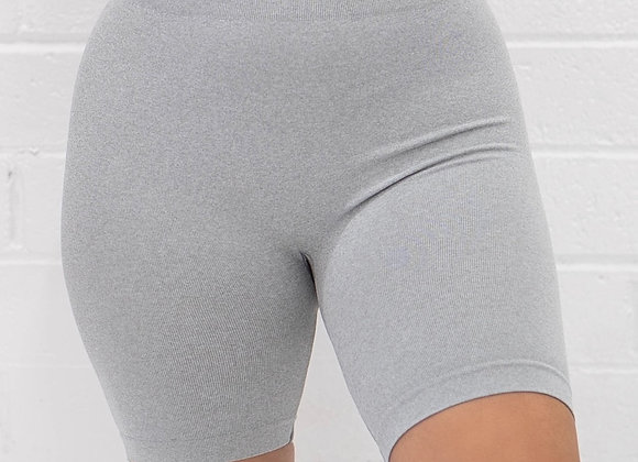 MGBASIX Biker Shorts - Grey