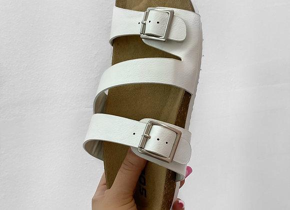 Summer Sandal - White