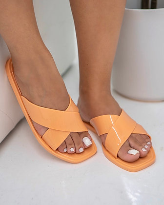 The Plastics Slide - Peach
