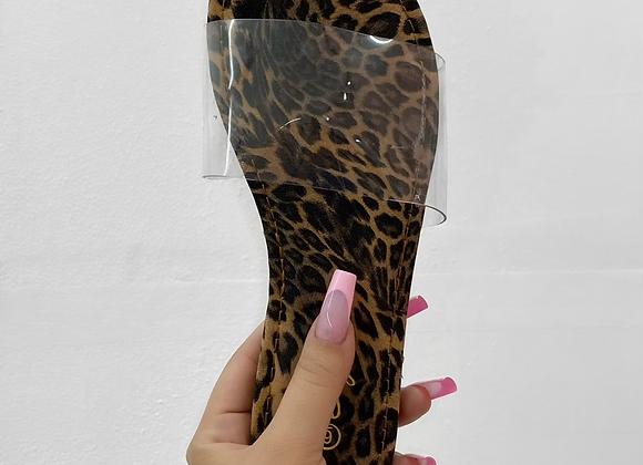 Paradise Sandal - Cheetah