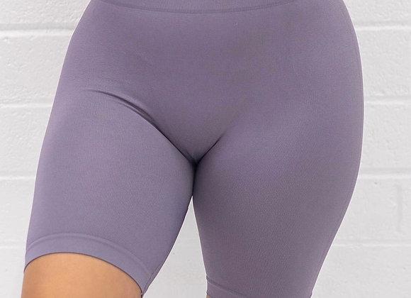 MGBASIX Biker Shorts - Lavender