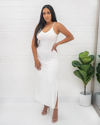 Vibe Dress - White