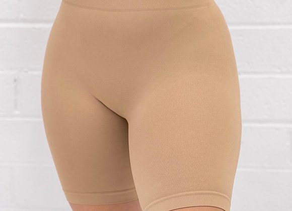 MGBASIX Biker Shorts - Mocha