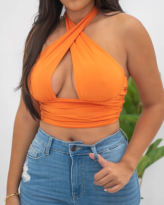 Good Times Top - Orange