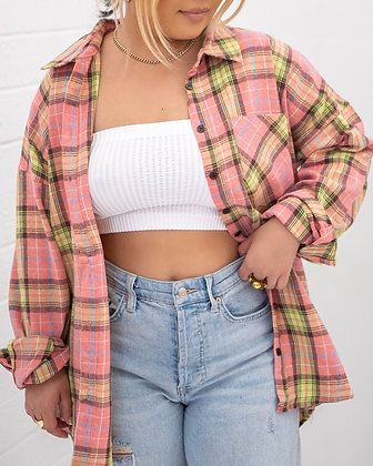 Pinkys Up Flannel