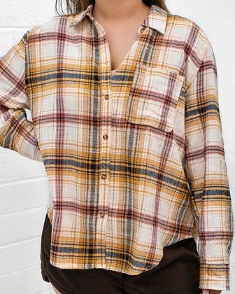 Cozy Saturday Flannel