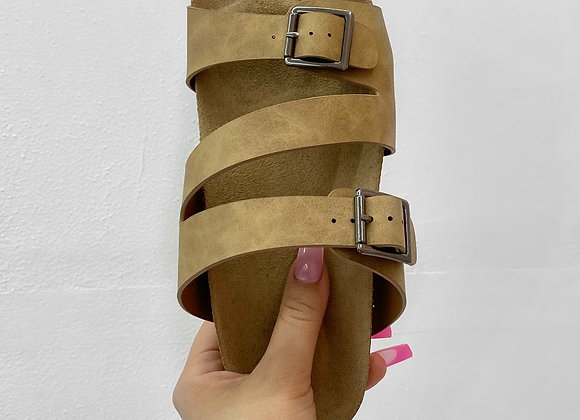 Summer Sandal - Brown