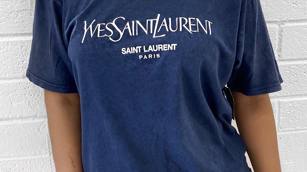 Yves Saint Tee - Denim
