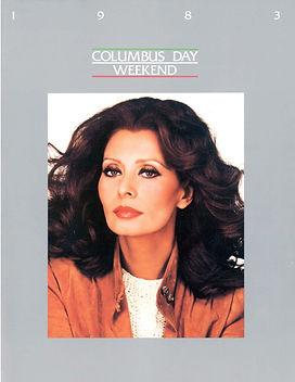 Columbus Day Booklet 1983 Sophia Loren_P