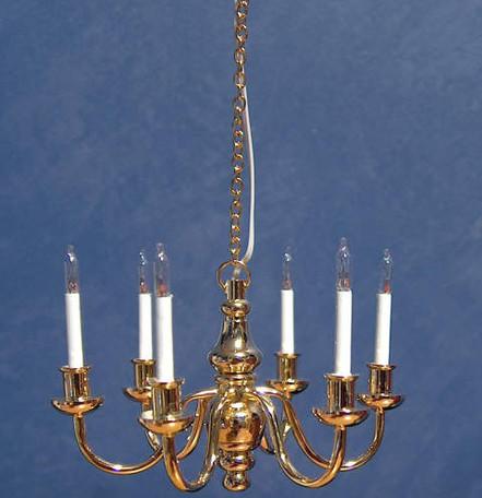 Deluxe six arm brass Chandelier large.jpg