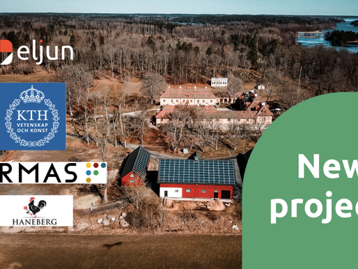 It's official. Eljun becomes part of KTH's Formas-supported project!