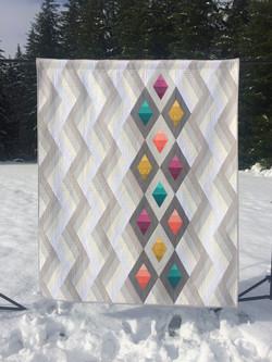 Woven Jewelbox Quilt