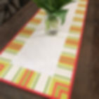 Quilting tutorial on mitering borders with stripes