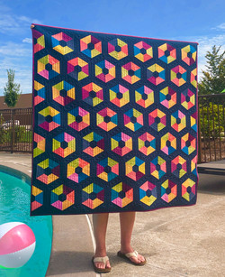 Pool  Party Quilt Krista Moser