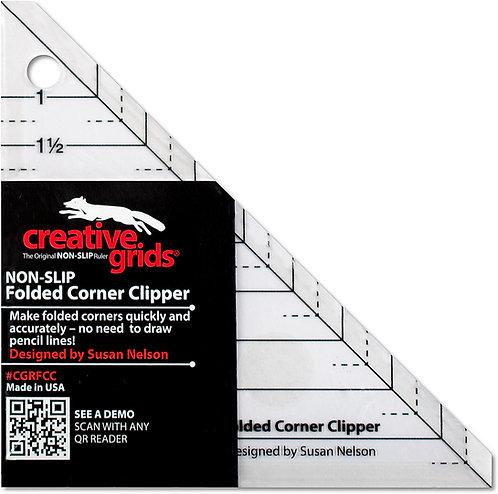 Creative Grids Folded Corner Clipper Ruler CGRFCC