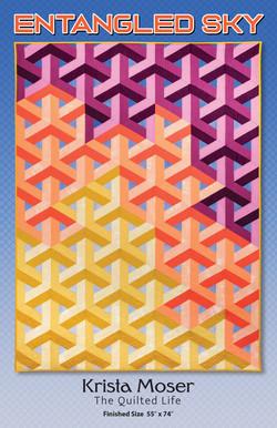 Entangled Sky Quilt Pattern