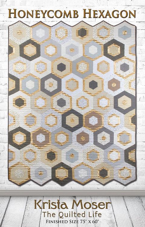 Honeycomb Hexagon Printed Pattern