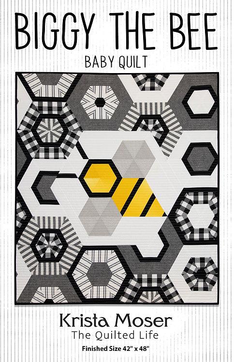 Biggy the Bee Printed Pattern