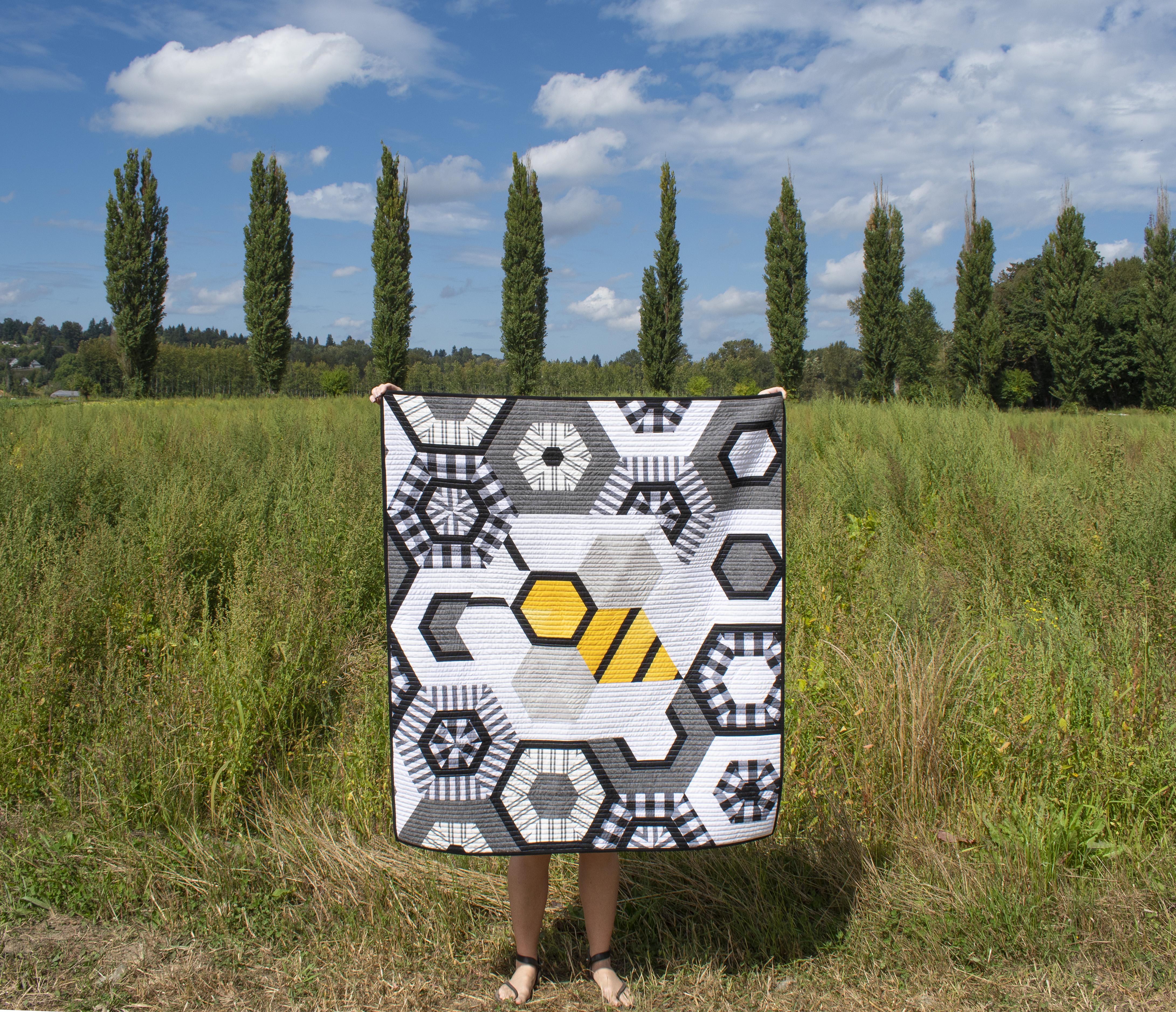 Big the Bee Baby Quilt