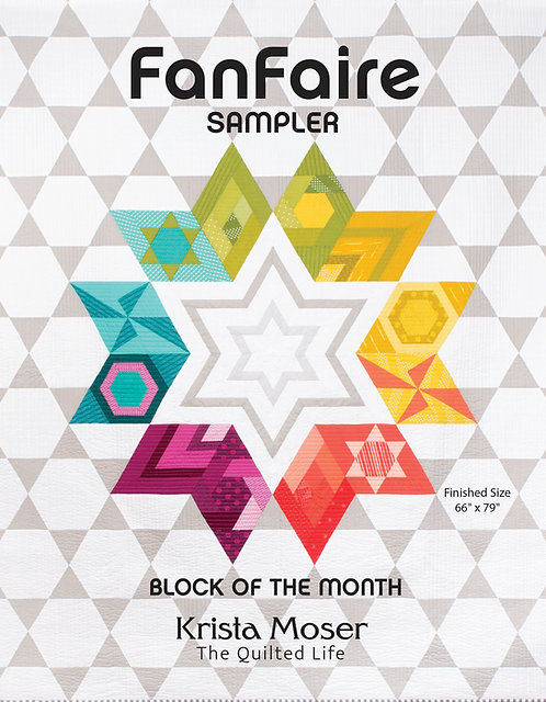 FANFAIRE Block of the Month Printed Pattern