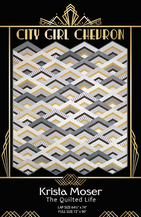 City Girl Chevron Digital Download