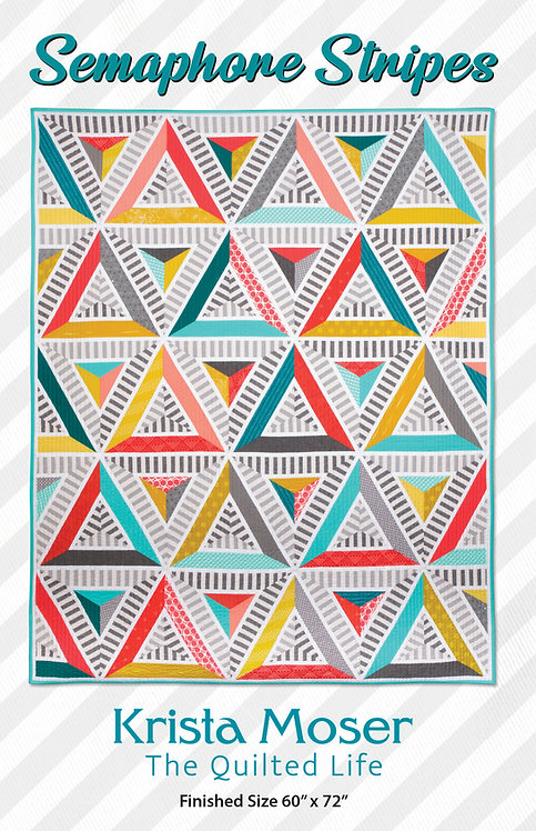 Semaphore Stripes Printed Pattern