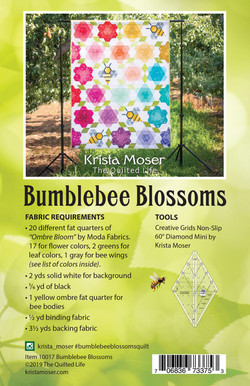 Bumblebee Blosoms Back Cover